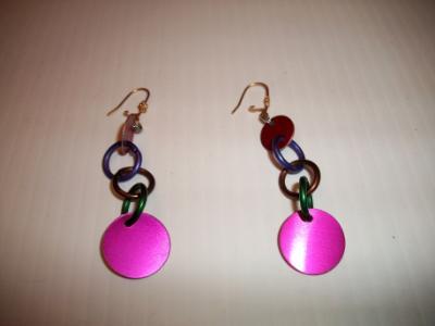 Anodized Aluminum Earrings