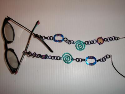 Peeper Keepers - Anodized aluminum eyeglass holders