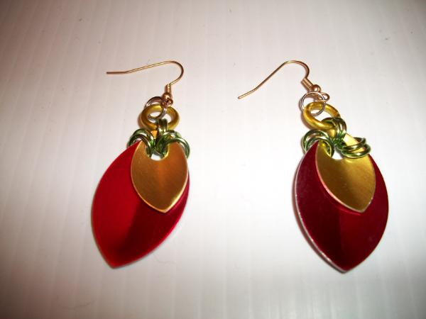 Anodized Aluminum Earrings