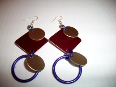 Anodized Aluminun Earrings