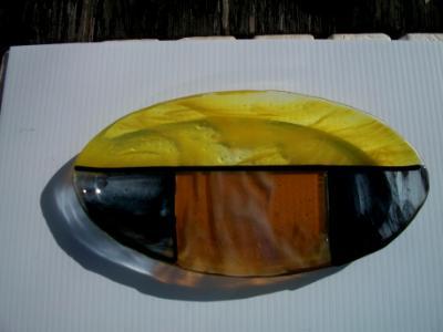 Fused Oval Plate