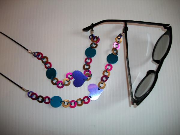 Peeper Keepers - Anodized aluminum eyeglass holders